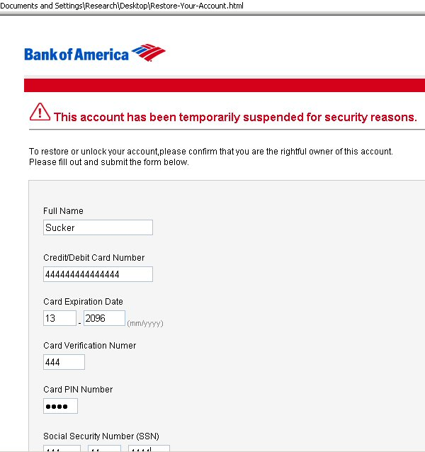 Lazy Phishers Just Email the Phishing Web Page to You, Now - Webroot