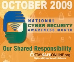 October is National Cyber Awareness Month