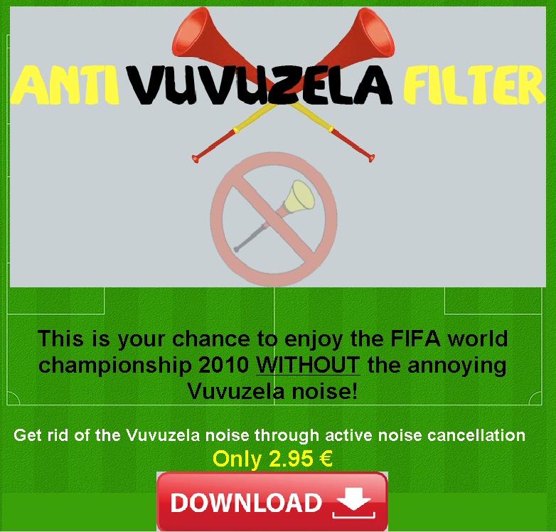 How to Filter the Vuvuzela Noise forecasting