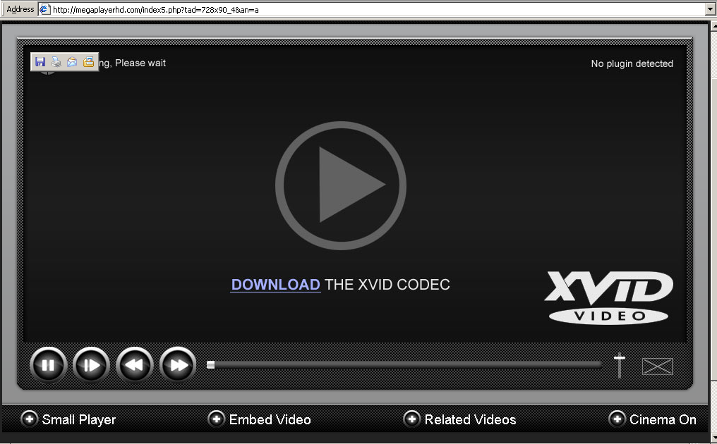 xvid codec required to play this video