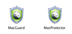 MacProtector and Mac Guard logos