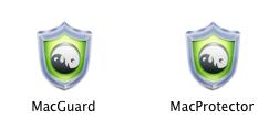 MacProtector and Mac Guard logos