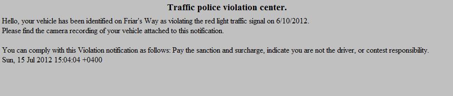 Traffic_Police_Violation_Spam_Malware