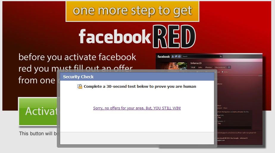 Fake 'Change Facebook Color Theme' events lead to rogue Chrome