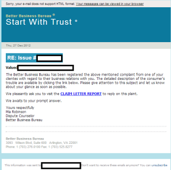 Email_Spam_BBB_Better_Business_Bureau_Exploits_Malware_Black_Hole_Exploit_Kit
