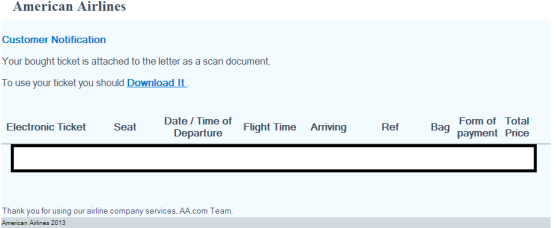 American_Airlines_Email_Spam_Malware_Malicious_Software_Social_Engineering