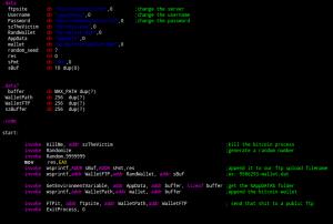 BitCoinJacker-Code