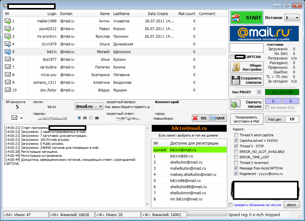 Russian Federation proxy servers - free-proxy cz