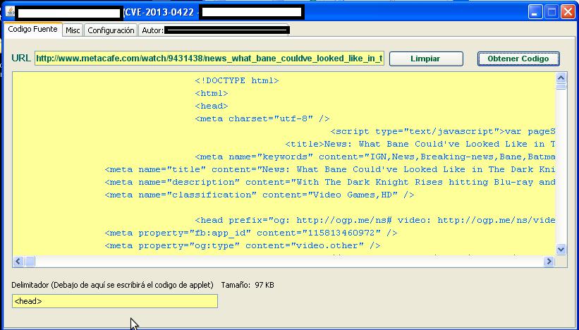 CVE-2013-0422_DIY_Generator_Exploit_Vulnerability_Malware_Malicious_Software_Social_Engineering