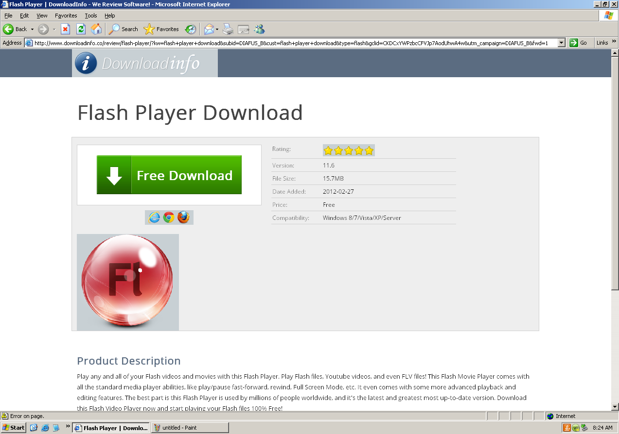 free download latest version of adobe flash player